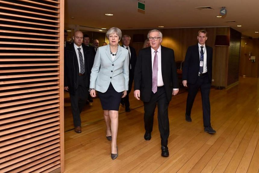 Britain and the EU reached a historic deal on Dec 8, 2017, on the terms of the Brexit divorce after the British Prime Minister Theresa May rushed to Brussels for early morning talks.