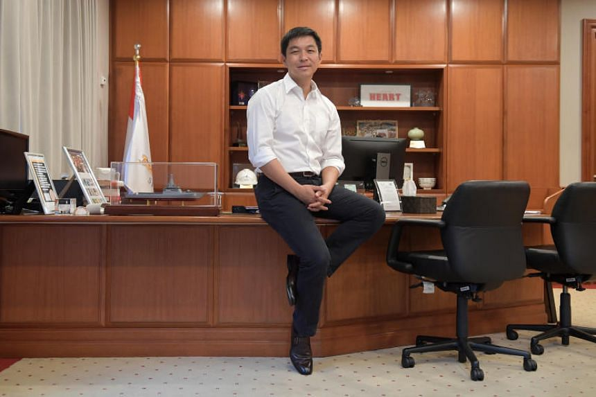 Mr Tan Chuan-Jin's appointment will take effect from Dec 8.