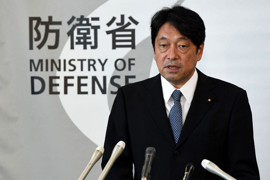 Japan's defence minister Itsunori Onodera (above) said the ministry intends to request a special budget to purchase long-range cruise missiles deployed on fighter jets.