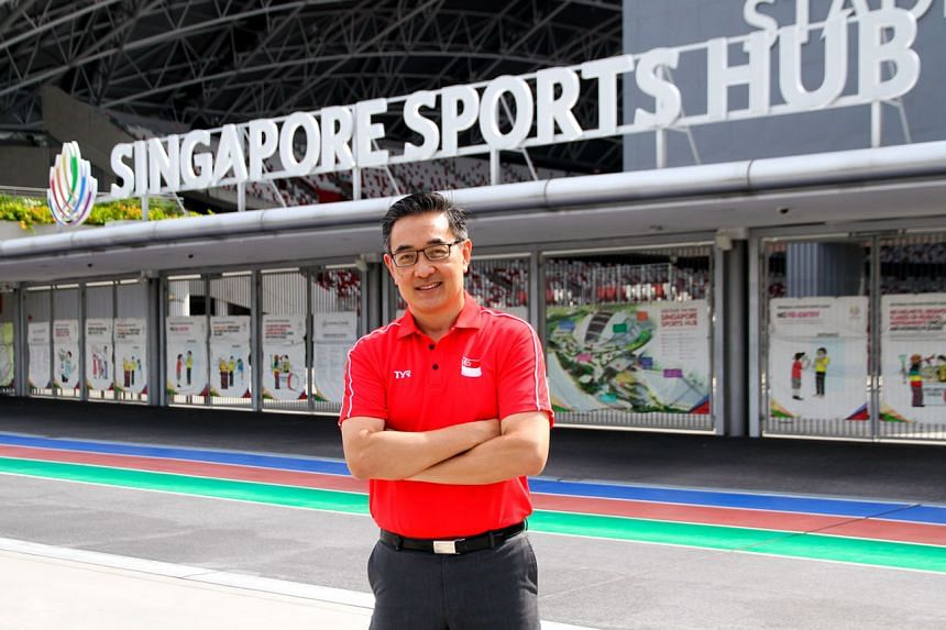 Sports Hub chief operating officer Oon Jin Teik joined the project in 2014. The 54-year-old Singaporean has been serving as the Sports Hub's acting CEO since May after former CEO Manu Sawhney left.