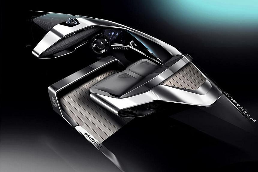 Peugeot has gone to sea with its Sea Drive Concept