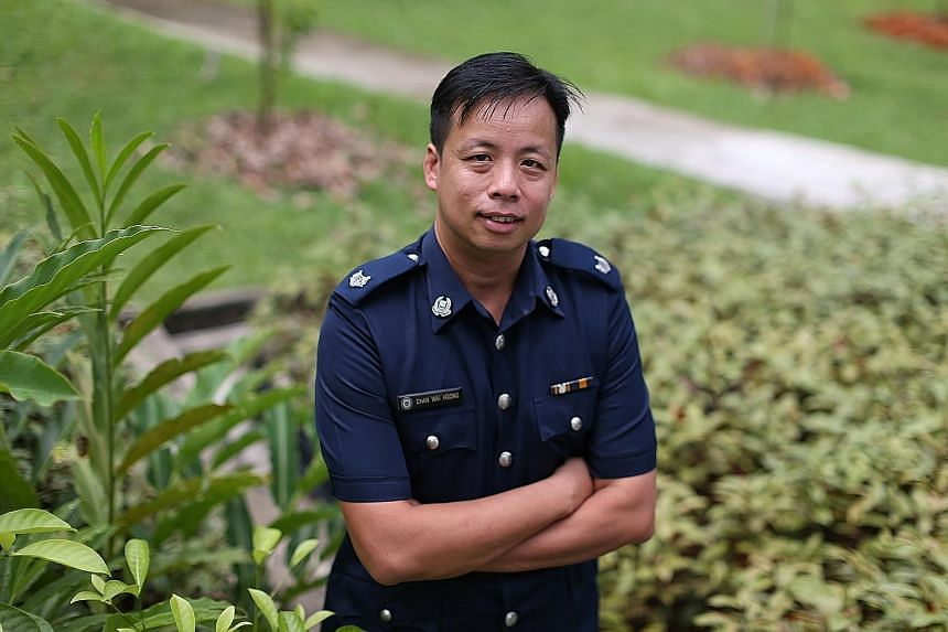 ASP Patrick Chan Wai Hoong, 44, was offered bribes while on duty in two separate incidents in 2016 and 2017. He rejected them on both occasions, and the suspects faced more severe penalties.