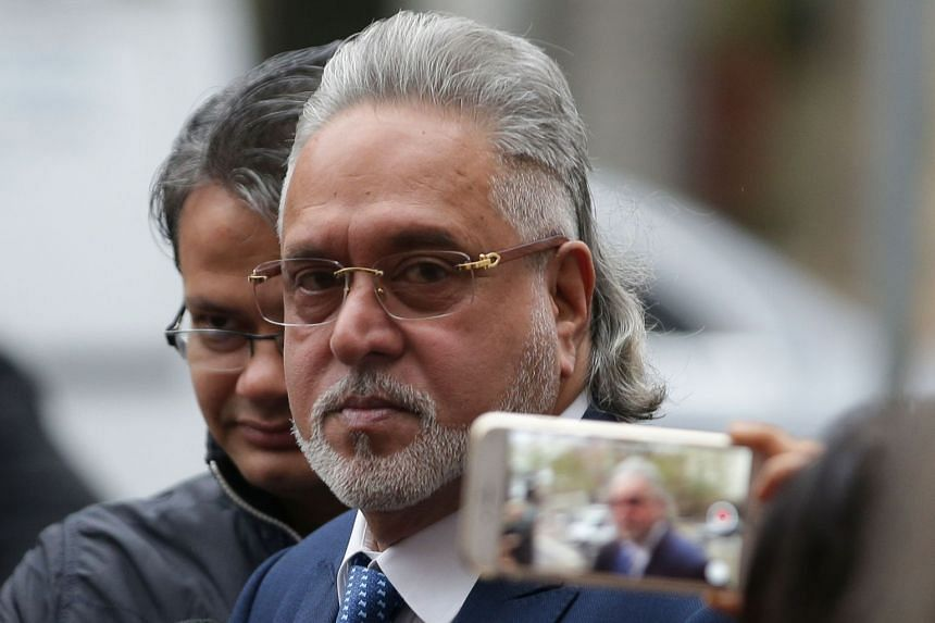 Mallya arrives at Westminster Magistrates Court in central London on Dec 7, 2017, for a hearing in his extradition trial.
