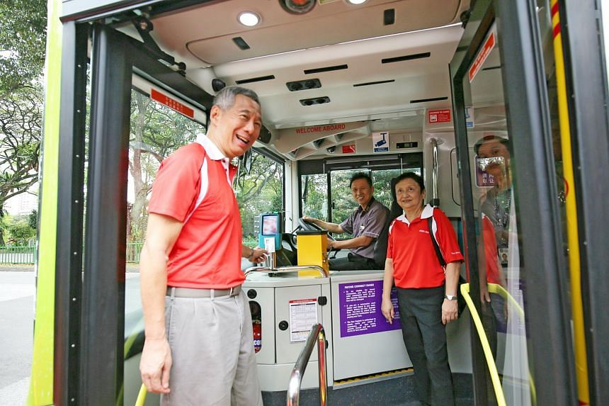 In an event on Saturday (Dec 9), Prime Minister Lee Hsien Loong commemorated the programme's conclusion by launching a new bus service, 71.