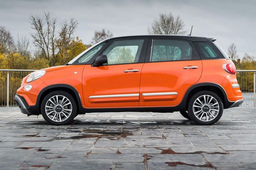 Fiat's second-generation 500L