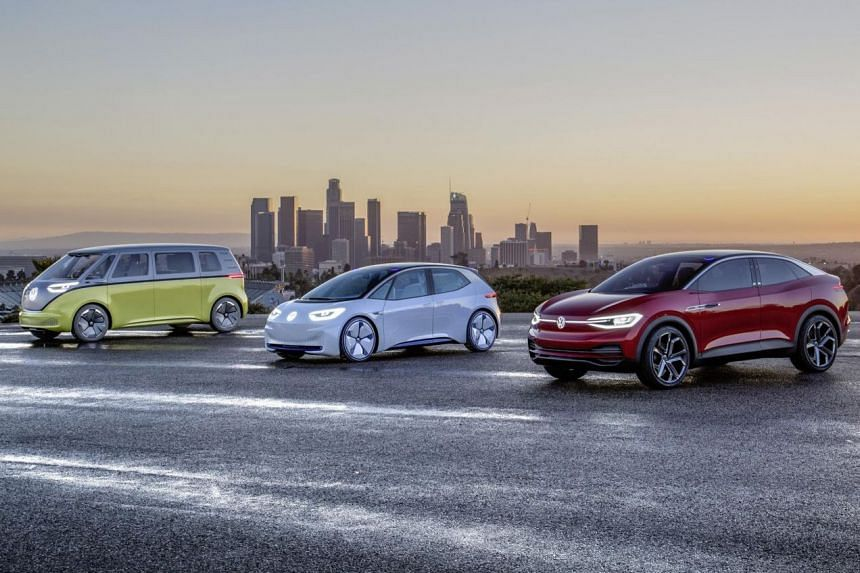 VW unveils new electric trio: ID, ID Buzz and ID Crozz SUV