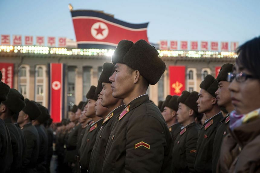 """North Korea condemned US President Donald Trump's decision on Jerusalem, calling it a """"reckless, wicked act""""."""