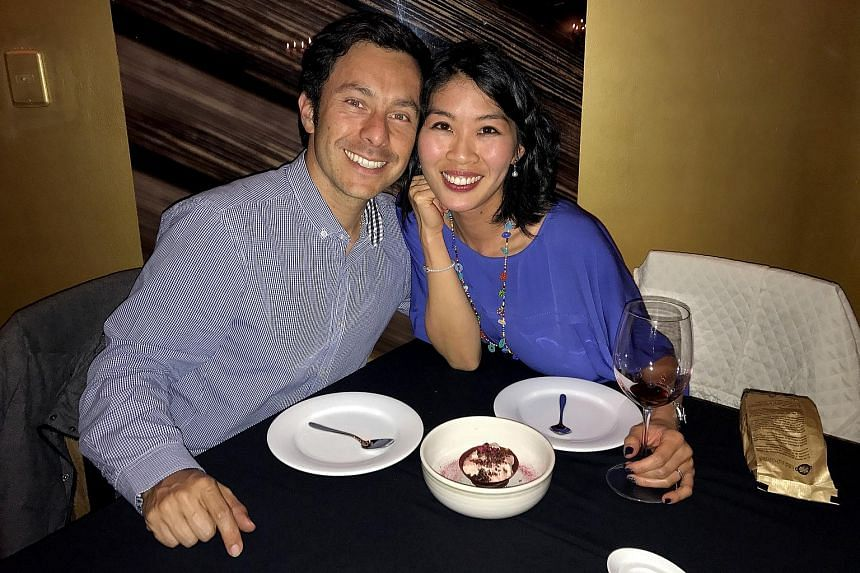 Communications coach Jessica Wong, who moved from Hong Kong to Colombia with her Colombian husband Mario Nigrinis Ospina.
