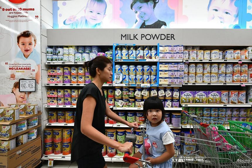 The AVA said brands need not highlight the composition of formula milk as all products need to contain the nutrients it has listed in its rules.