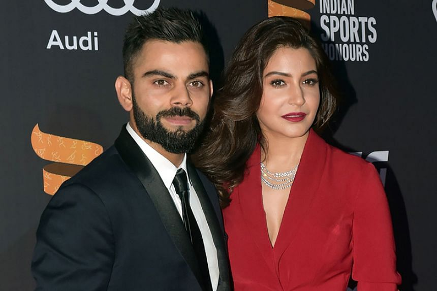 """Indian TV channels have gone into overdrive over what they have billed as the """"wedding of the year"""" between cricket captain Virat Kohli and his long-time girlfriend, Bollywood actress Anushka Sharma."""