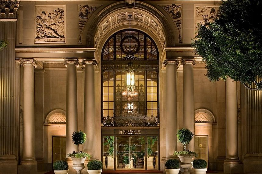 The Millennium Biltmore Hotel Los Angeles. M&C owns, runs, invests in or franchises 137 hotels in 27 countries worldwide.