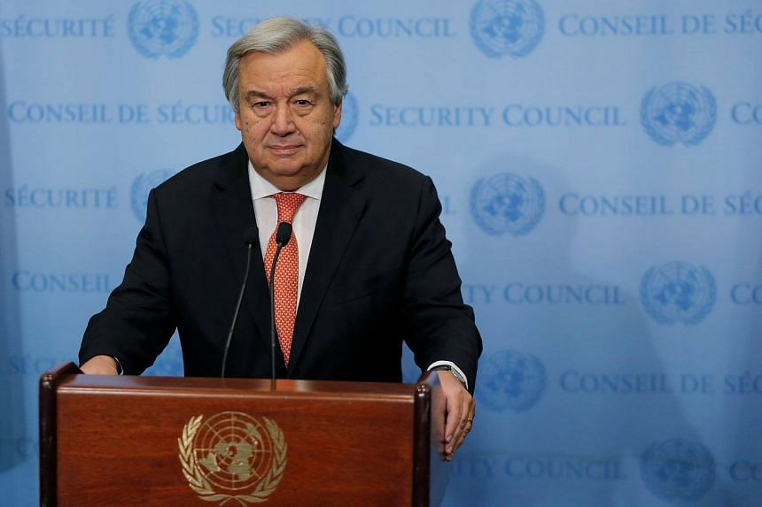 "UN Secretary-General Antonio Guterres called for a renewed push to end the ""stupid war"" in Yemen."