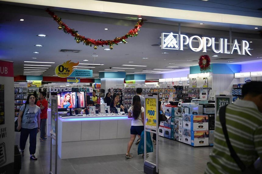 Popular's outlet in The Clementi Mall reopened in October as its only store with gadgets and IT products, instead of books, in the storefront. The firm, which first started to put together a comprehensive range of IT-related products two years ago, i