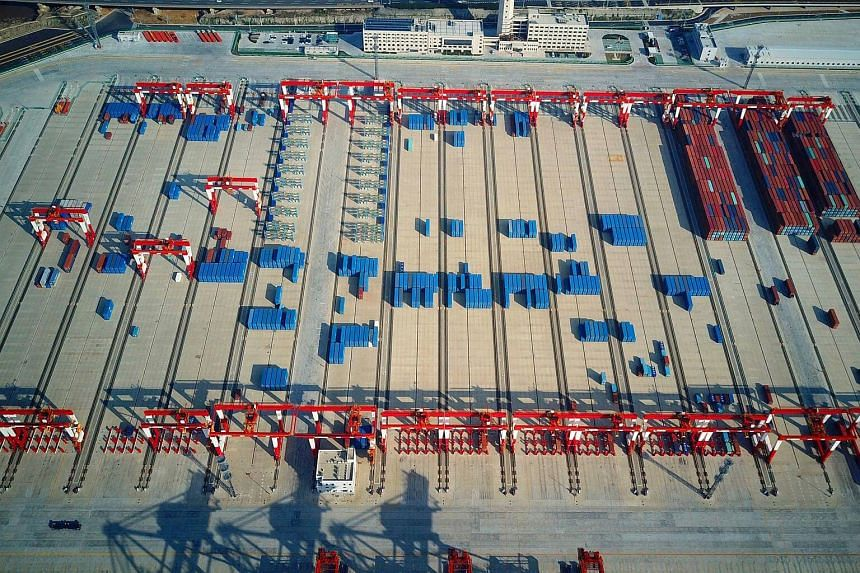 China has started trial operations of the world's biggest automated container terminal, the Shanghai Yangshan Deep Water Port.