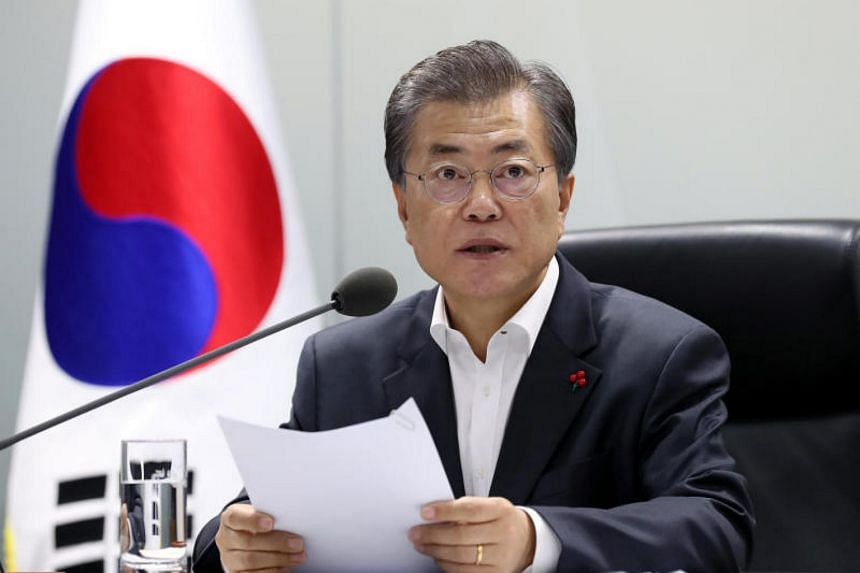 "South Korean President Moon Jae In hopes to ""normalise"" ties with giant neighbour China on his first state visit to the country."