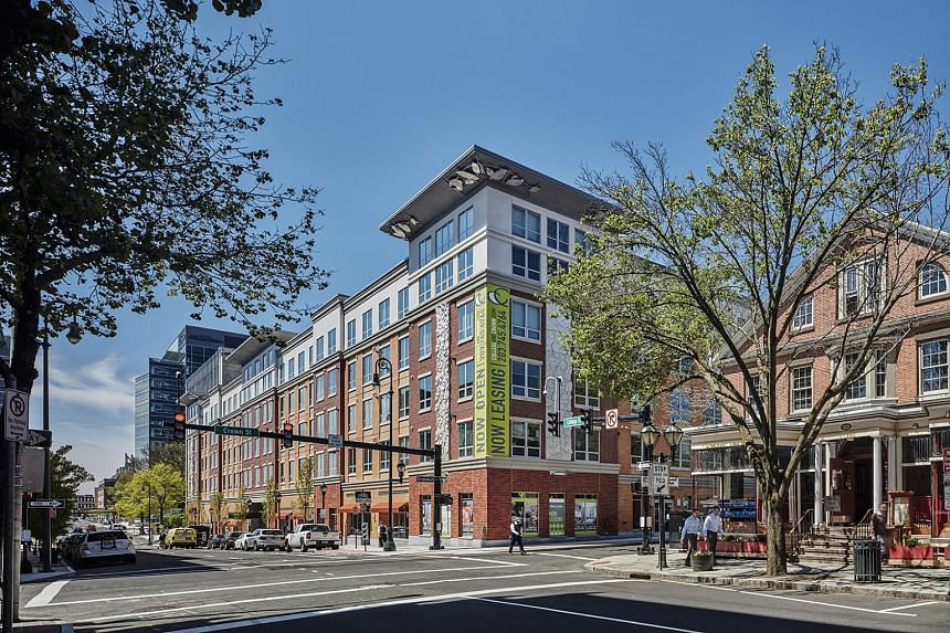 """Centurion's College & Crown student accommodation located near Yale University in the United States. The dormitory developer says it """"will continue to selectively explore opportunities"""" to grow its accommodation business."""