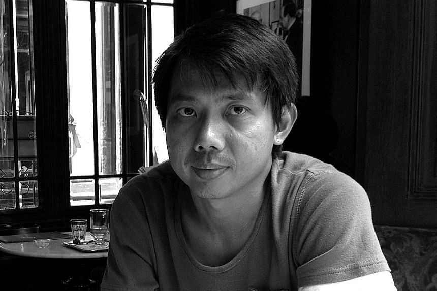 Oh Yong Hwee (left) wrote Coalition Of The Savoury Spare Parts; James Tan (above) wrote and illustrated Final Resting Place; and Benjamin Chee (below) illustrated Guidebook To Nanyang Diplomacy.