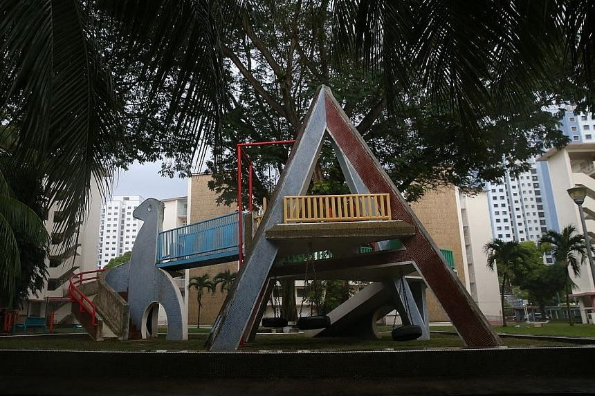 Dakota Crescent's iconic dove playground will be kept, along with its courtyard and six blocks. Keeping the neighbourhood accessible to people from all walks of life, including seniors and lower-income groups, would be key, said architect Jonathan Po
