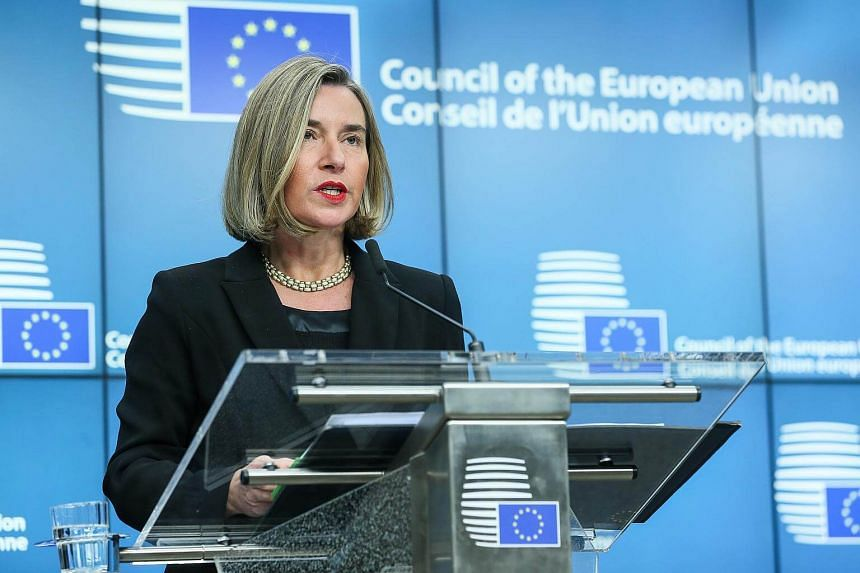 "EU High representative for foreign policy Federica Mogherini (pictured) told Israeli Prime Minister Benjamin Netanyahu to ""keep his expectations for others""."