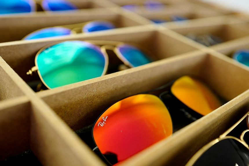 Luxottica's brands include Ray-Ban, Oakley, Burberry and Coach.
