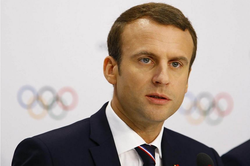 French President Emmanuel Macron said that concrete projects with real financing were missing.