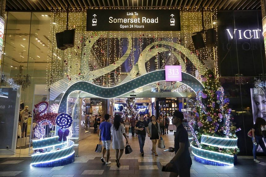 The total retail sales value in October was estimated at S$3.6 billion.