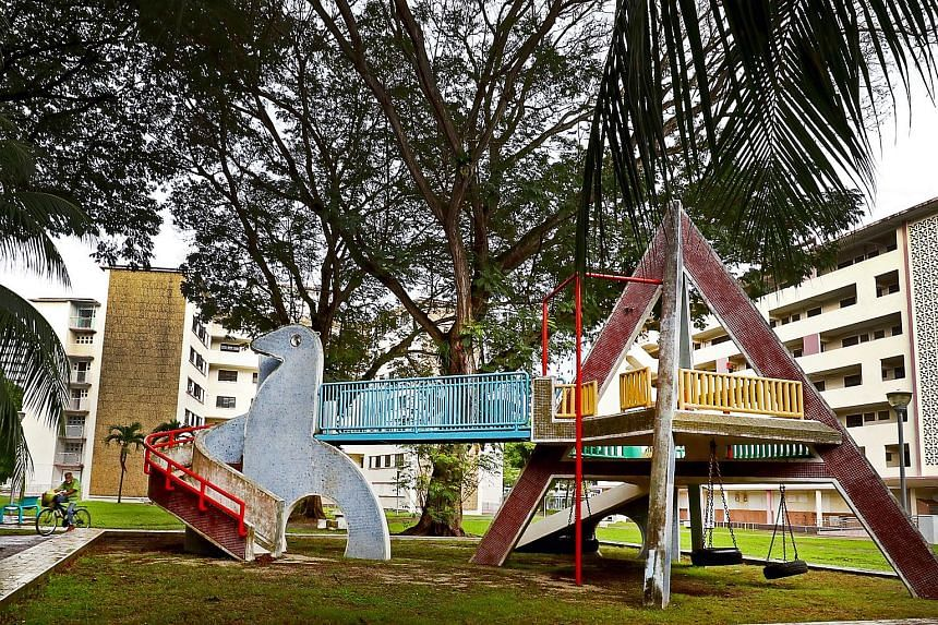 Dakota Crescent's iconic dove playground will be kept, along with its courtyard and six blocks.