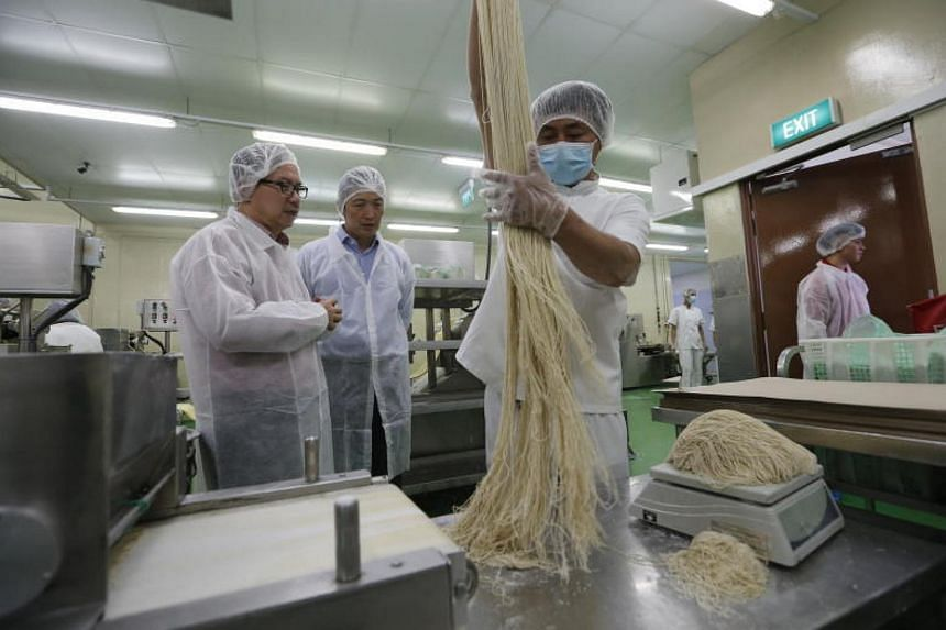 Leong Guan Food Manufacturer is embarking on research and development to increase the wholegrain content of their wholegrain noodles.