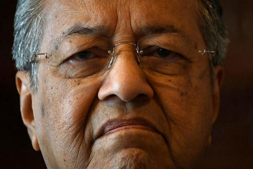 Tun Mahathir Mohamad had to hold his tongue after a month-long row with one of Malaysia's nine revered Malay kings.