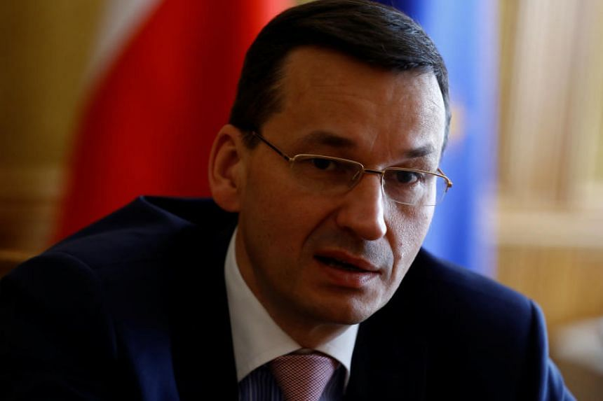 Deputy Prime Minister Mateusz Morawiecki speaks at the Reuters Central & Eastern Europe Investment Summit at his office in Warsaw, Poland on May 25, 2017.