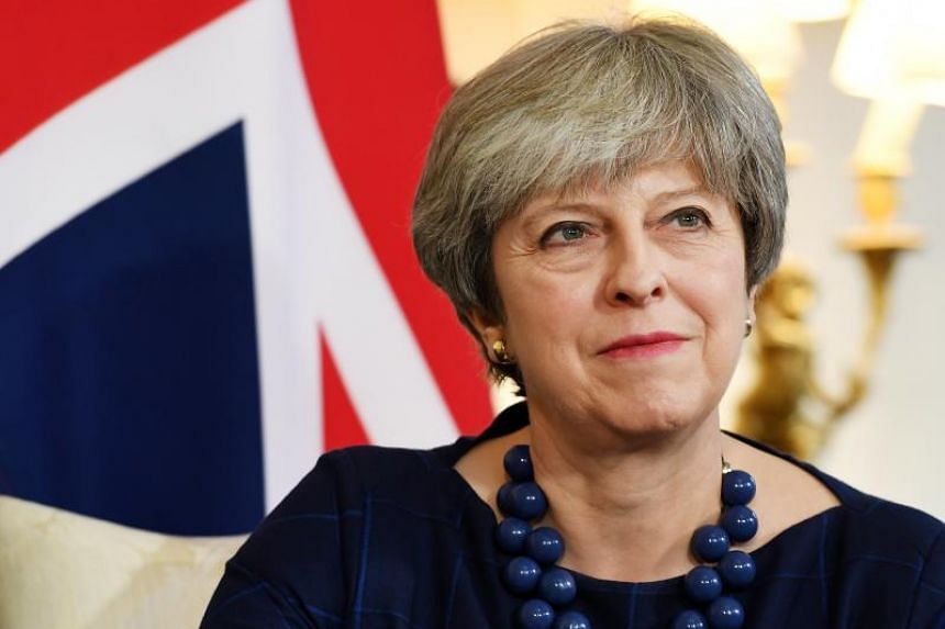 British Prime Minister Theresa May in 10 Downing Street in London, Britain, on Dec 5, 2017.
