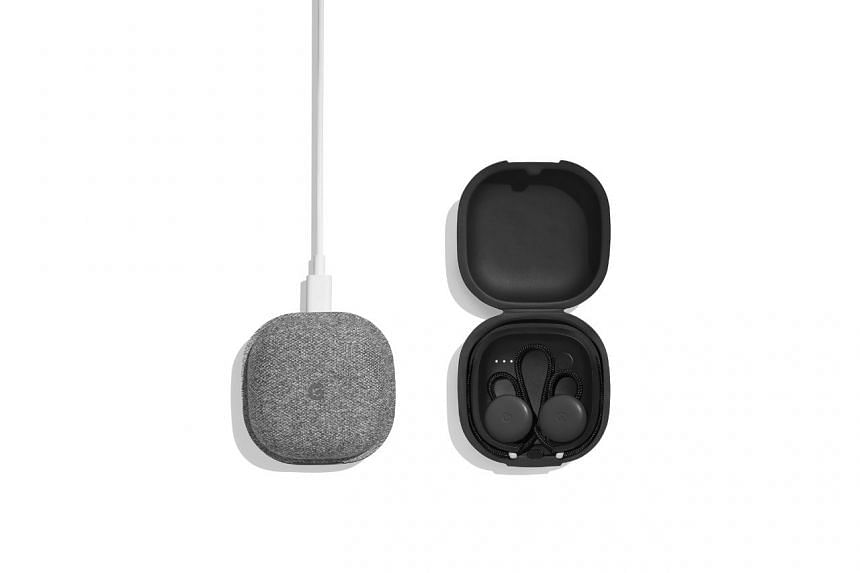 The Pixel Buds is Google's answer to Apple's wireless AirPods. PHOTO: GOOGLE