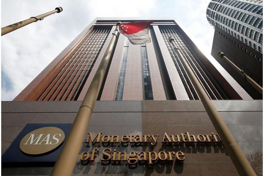 A view of the Monetary Authority of Singapore's (MAS) headquarters in Singapore.
