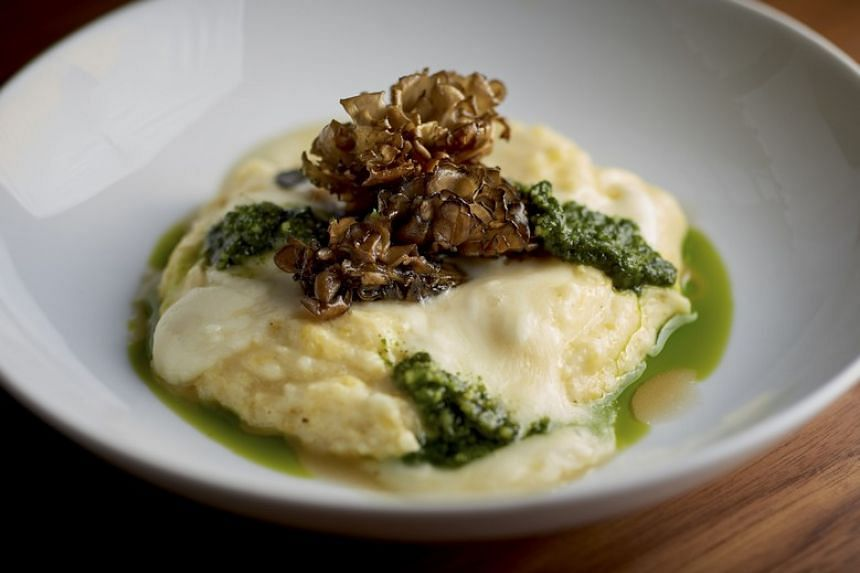 The polenta at the Union Square Cafe in Manhattan.