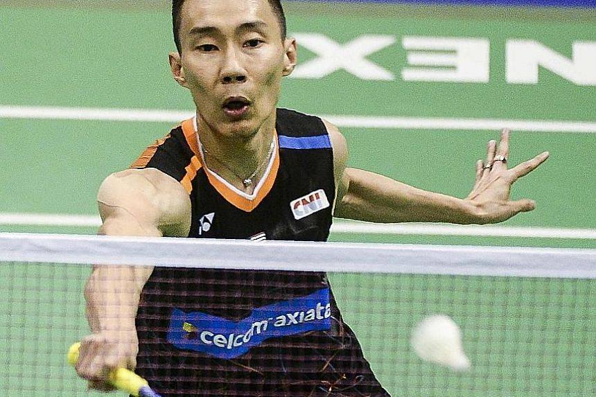 Lee Chong Wei in action at the Hong Kong Open last month, which he won. In good form, the Malaysian former world No. 1 hopes to finally lift the Finals title in Dubai, where success has eluded him thus far.