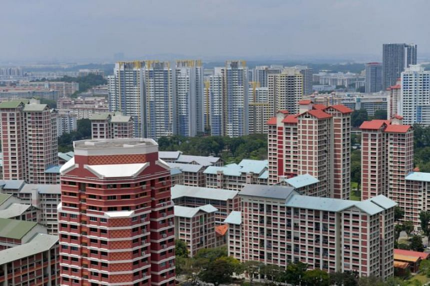 In the HDB space, rents fell by 0.5 per cent in November from a month ago.