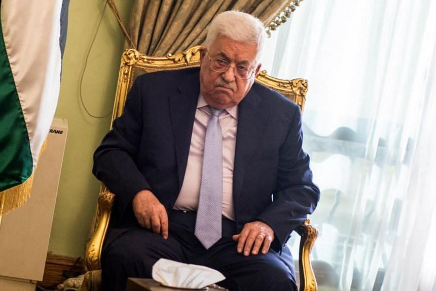 Palestinian President Mahmoud Abbas said it was unacceptable for the US to have a role in the Middle East peace.
