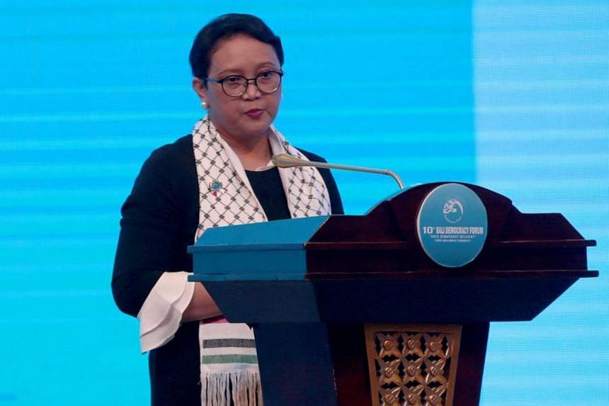 """Indonesian Foreign Affairs Minister Retno Marsudi said the move by US President Donald Trump to recognise Jerusalem as Israel's capital had gone """"too far"""" over a red line."""