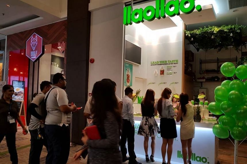 llaollao said it would be back during the first quarter of 2018, after all 29 of its outlets were taken over by another brand Yole.