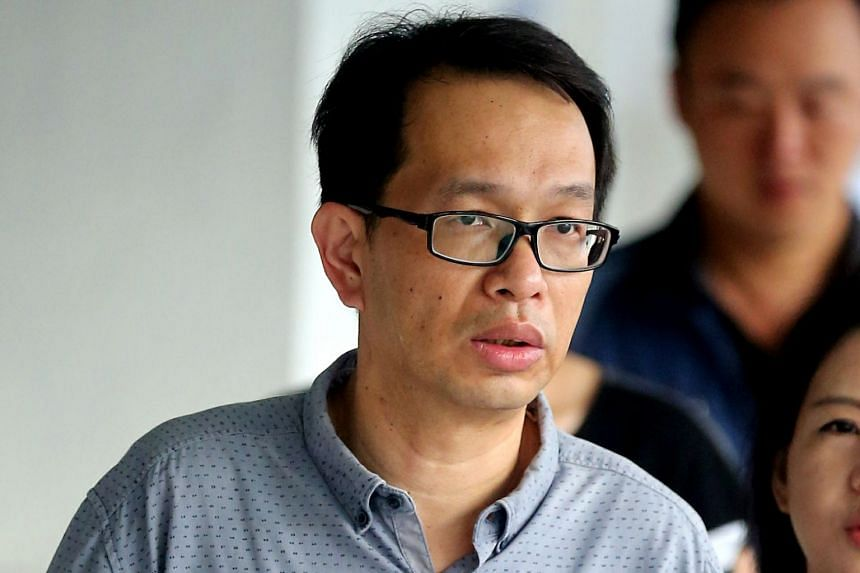 Edward Loh Teik Khoon was sentenced to eight weeks' jail, fined $600 and banned from driving for two years.