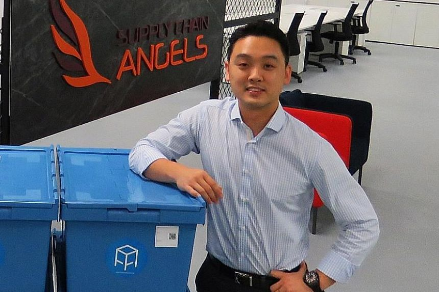 """Mr James Ong of YCH Group's corporate venture arm Supply Chain Angels said that its partnership with SGInnovate aims to help deep tech start-ups """"scale faster and wider across geographies""""."""