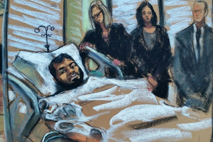 Akayed Ullah appeared by video for a brief hearing from his bed in Bellevue Hospital, where he was recovering from injuries he suffered when his homemade bomb ignited but failed to detonate.