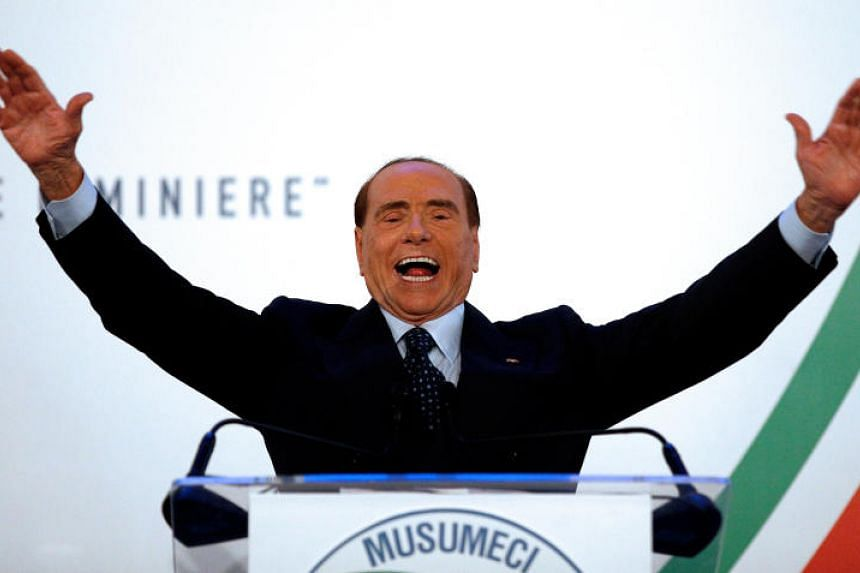 Former Prime Minister Silvio Berlusconi's centre-right alliance is seen winning the most seats at the forthcoming ballot, opinion polls say.