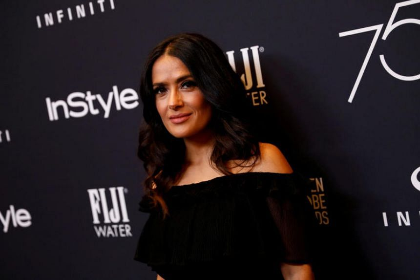"""For years, he was my monster,"" A-lister Salma Hayek wrote in an essay published in The New York Times."