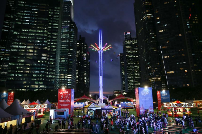 The Prudential Marina Bay Carnival will open on Dec 15 and run until April 1 next year.