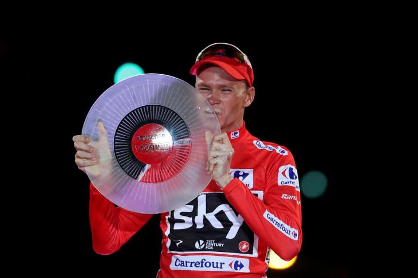 Four-time Tour de France champion Chris Froome was found to have twice the permissible amount of legal asthma drug Salbutamol in his system during September's race.