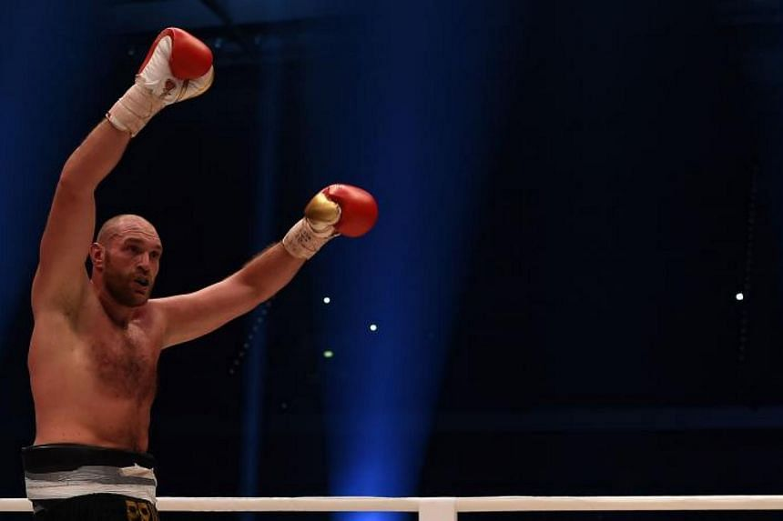 Tyson Fury had agreed a two-year backdated ban after testing positive for a banned steroid in February 2015.
