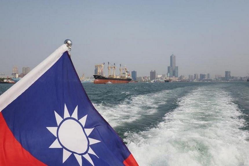 """China's Foreign Ministry said the have already lodged """"stern representations"""" with the US government over the move, which could allow US Navy vessels to visit Taiwan."""
