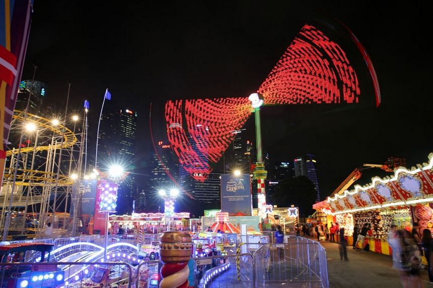 The carnival will be held at the Promontory and Bayfront Event Space.
