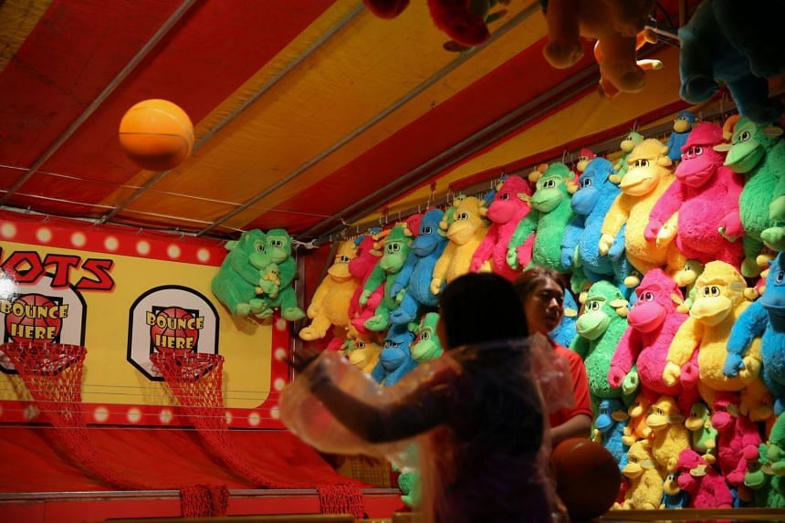 Entry to the event is free, but there are charges for the rides and game booths.